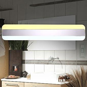LED-Spiegel vorne Licht Edelstahl Acryl moderne Badezimmer Lampen wc ...