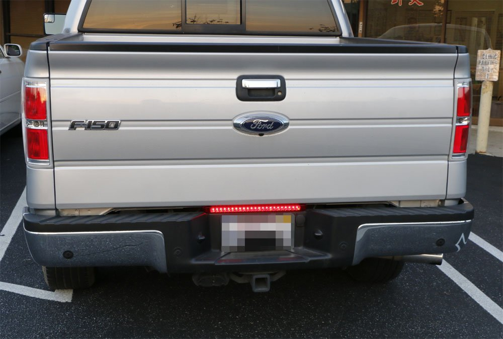 iJDMTOY 17 Trunk Tailgate Red LED Tail//Brake Light Bar For Ford GMC Chevy Dodge Toyota Nissan Honda Truck iJDMTOY Auto Accessories 17 Tail Brake Turn Rigid LED Light Bar