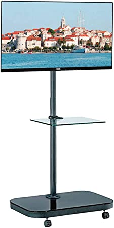 Allcam Fs941 Tv Trolley Floor Stand W Amazon Co Uk Electronics