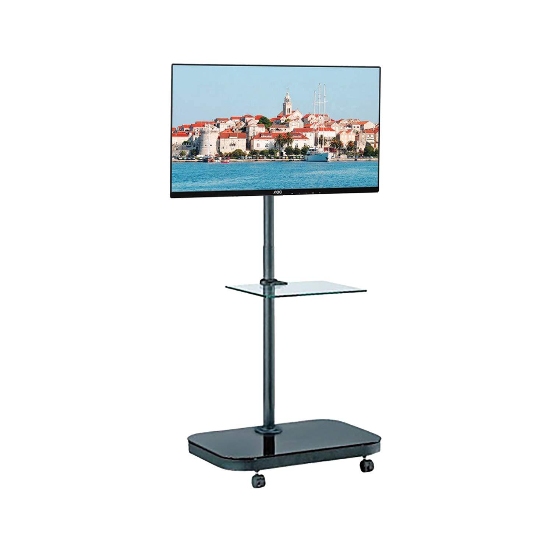 Allcam FS941 52' Portable flat panel floor stand Nero base da pavimento per tv a schermo piatto
