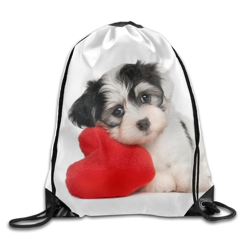 Dog Drawstring Backpack Rucksack Shoulder Bags Training Gym Sack For Man And Women