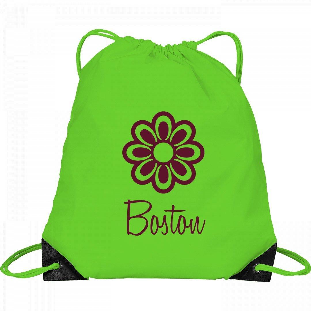 Flower Child Boston: Port & Company Drawstring Bag