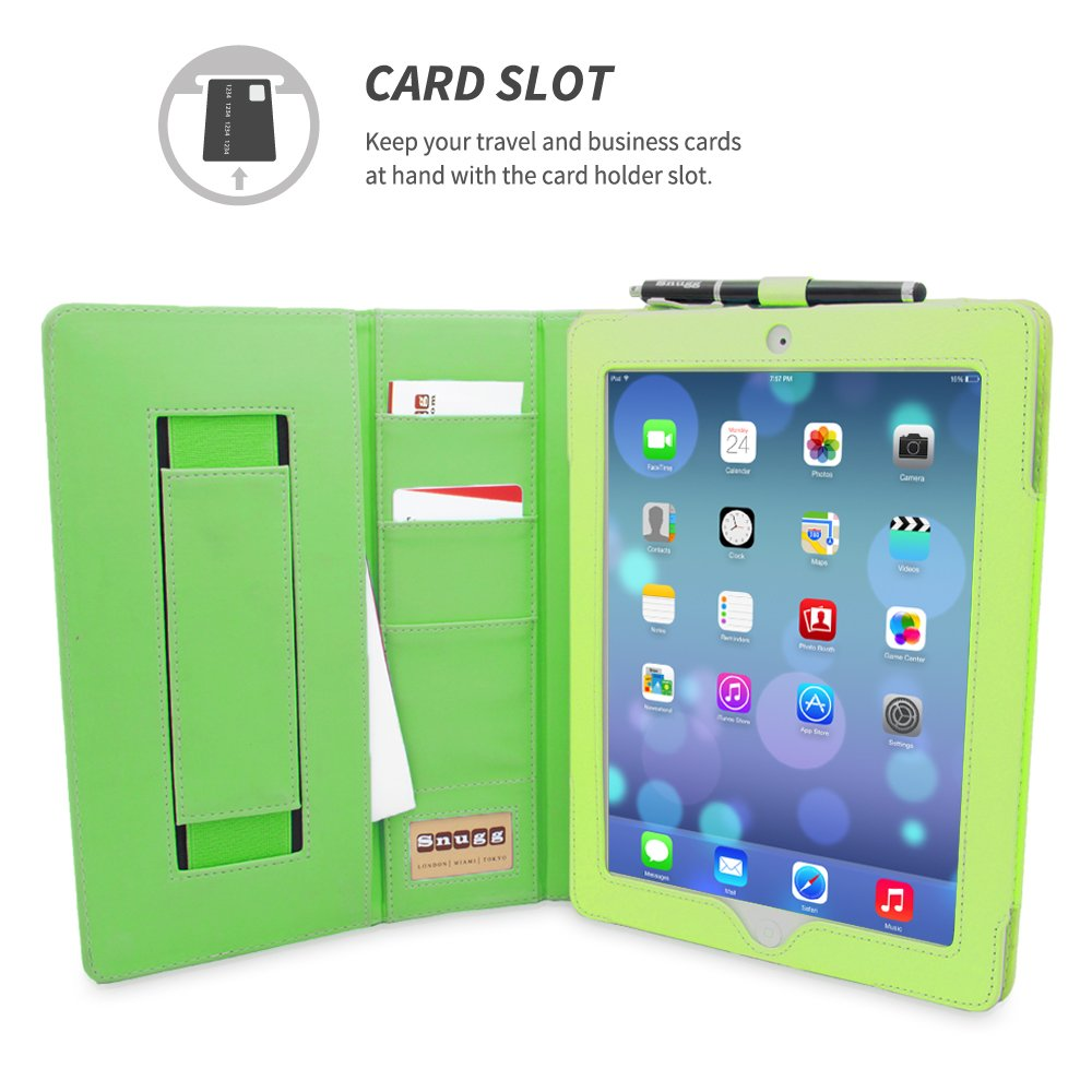 Amazon.com: Snugg Leather Flip Stand Case for Apple iPad 3 and 4 ...