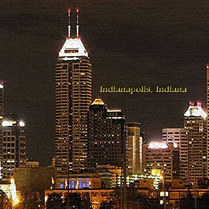 3dRose lsp/_60310/_2Indianapolis At Night In Texture Double Toggle Switch