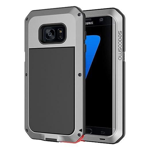9 opinioni per Custodia Galaxy S7 Edge, [GARANZIA A VITA], Seacosmo Protezione Robusta con