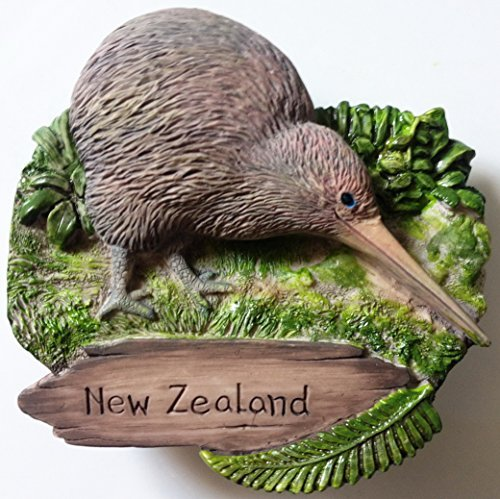 Kiwi NEW ZEALAND Resin 3D fridge Refrigerator Thai Magnet Hand Made Craft. by Thai MCnets by Thai MCnets