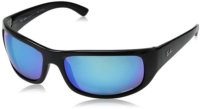 08f5d832dd Rayban Polarized Rectangular Men s Sunglasses - (8053672726633