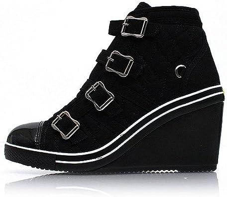 EpicStep Women's Canvas Shoes High Top