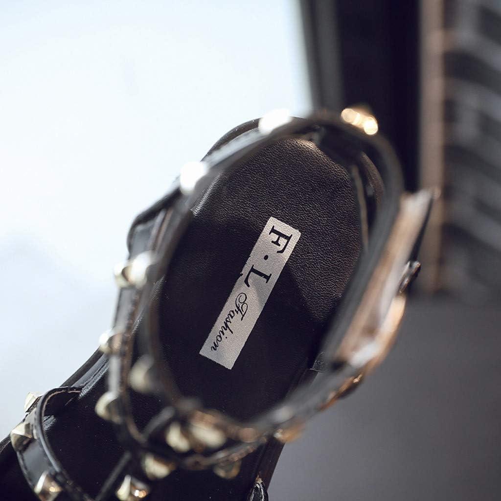 Rivet Buckle Beach Flat Fashion Sandals Everymony Summer Girl New Korean Casual Sandals