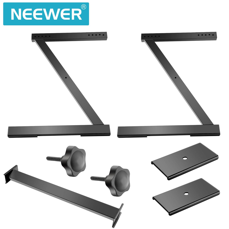 Neewer Z-Estilo Soporte para Teclado - Construcción de Acero para Trabajo Pesado con Sistema de Bloqueo Sólido, Soporte para Instrumento de Teclado para ...
