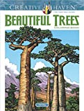 Creative Haven Beautiful Trees Coloring Book (Adult Coloring)