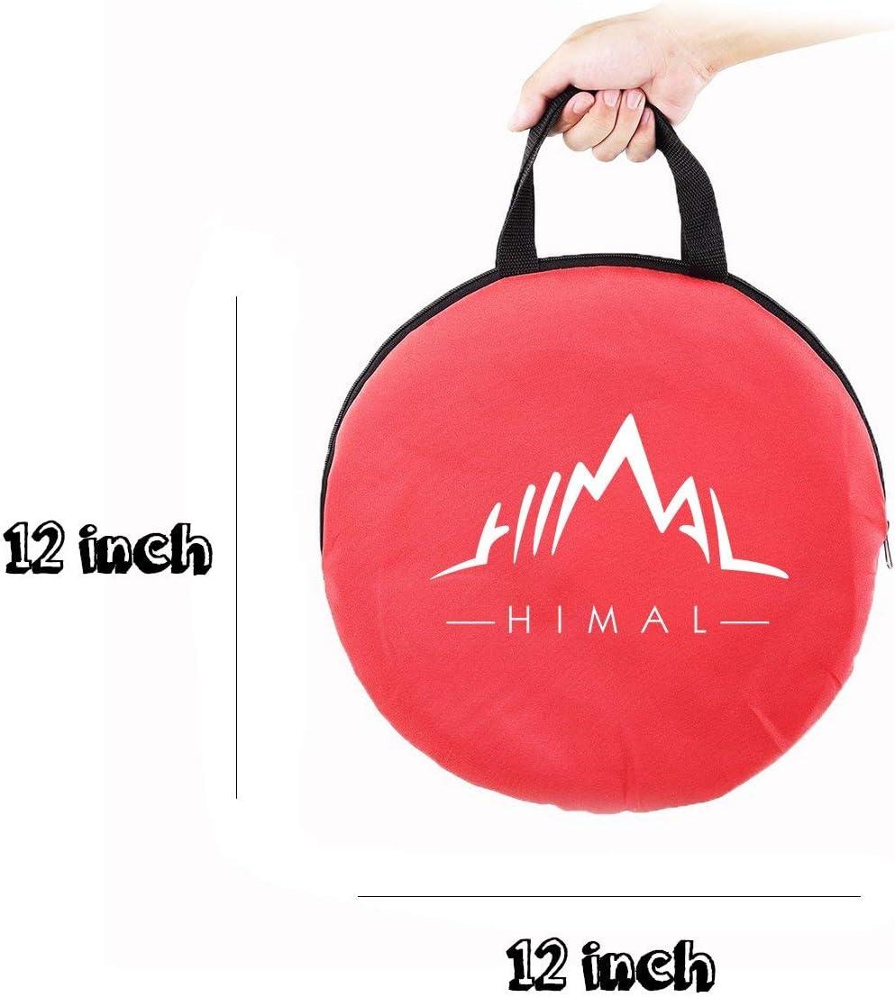 -1 Himal Collapsible Portable Cornhole Game Boards 10 Cornhole Bean Bags Cornhole Set Tic Tac Toe Game 2 Games on 1 Board 2 x 1-feet