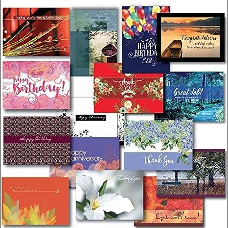 Amazon zillomart all occasion greeting card assortment 5 x 7 zillomart all occasion greeting card assortment 5 x 7 inch box set m4hsunfo