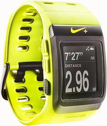activación Ver insectos Humanista  Amazon.com: Reloj deportivo Nike con GPS TomTom: Sports & Outdoors