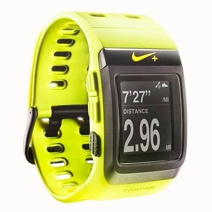 Nike + SportWatch GPS Desarrollado por Tomtom - WM0069-700, Voltio ...