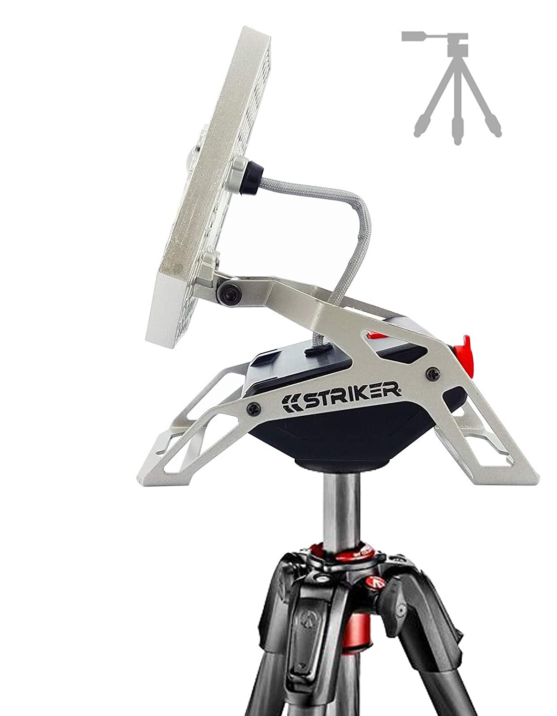 for Home and Camping Silver Striker Concepts 00173 Striker Modern Mobile Task Light 1200 Lumens