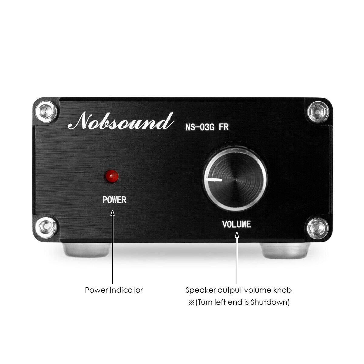 con canale mono a frequenza intera Nobsound 100 W subwoofer mini amplificatore audio