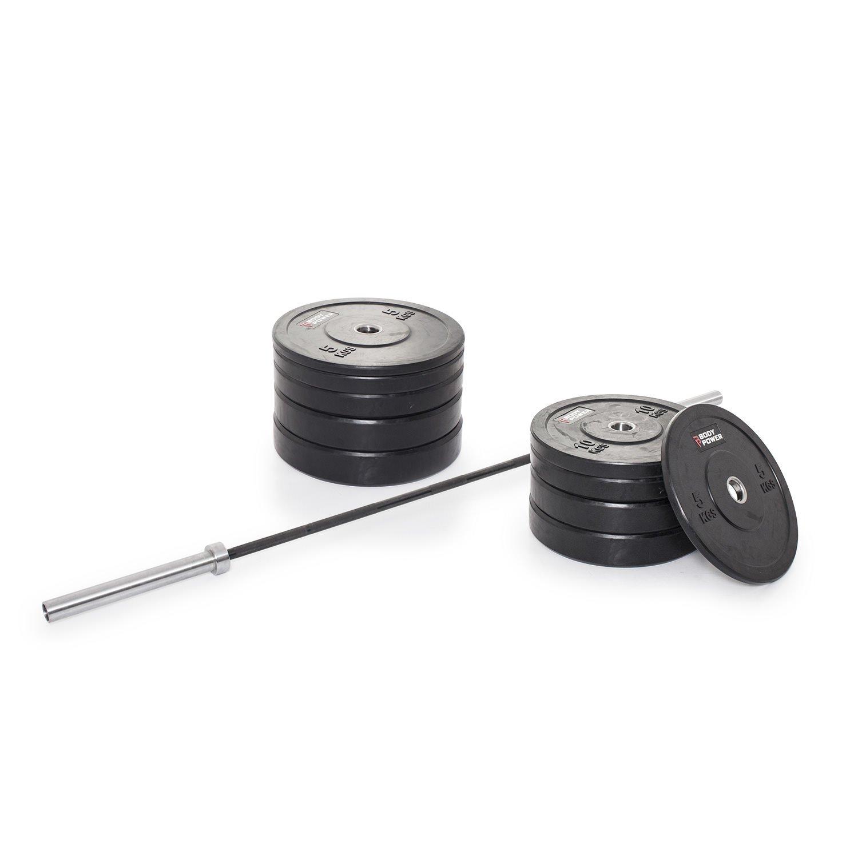 Bodypower 130Kg TRI-GRIP Olympic Weight Set