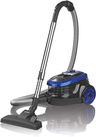 Cleanmaxx Aspiradora con alta potencia de succión y cepillo de rotación de potencia sin bolsa y potente aspirador ciclónico de 750 W: Amazon.es: Hogar