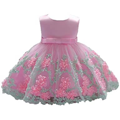 Women's Bags Motivated Kids Baby Flower Girls Bow Xmas Tulle Tutu Dress Princess Party Wedding Gown Toddler Adorable Baby Long Sleeve Floral Tutu Dress Luggage & Bags