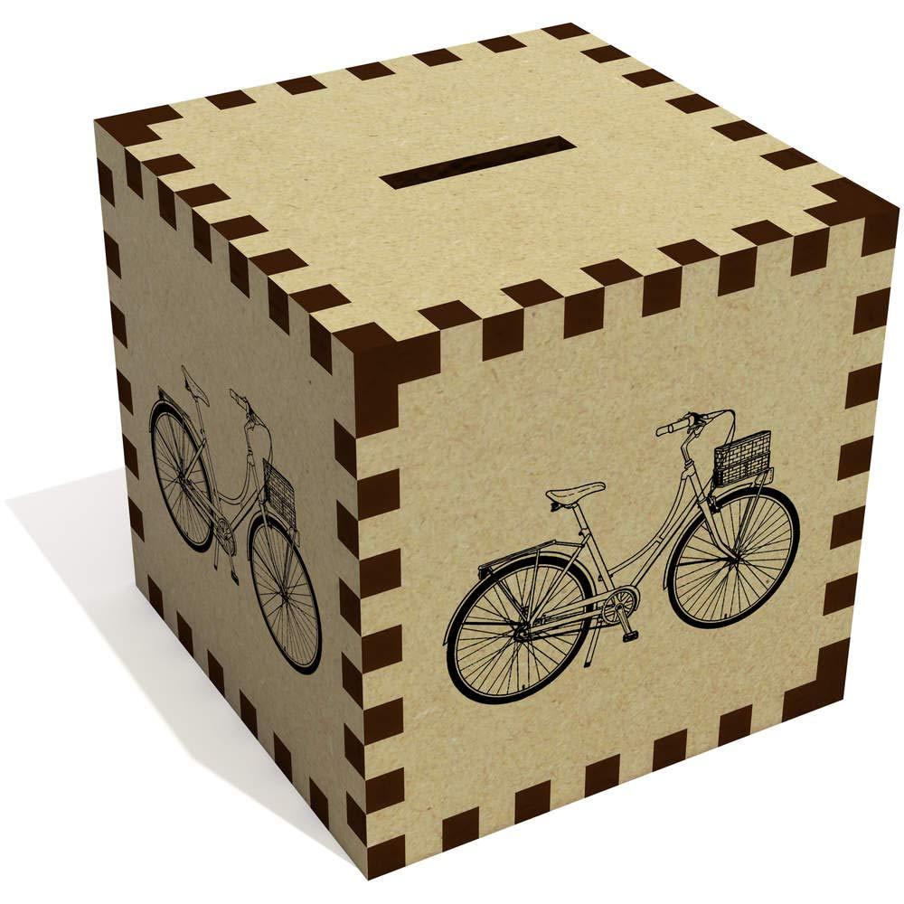 Azeeda Bicicleta Vintage Caja de Dinero / Hucha (MB00073193 ...