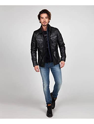 Veste en cuir redskins willey cordoba
