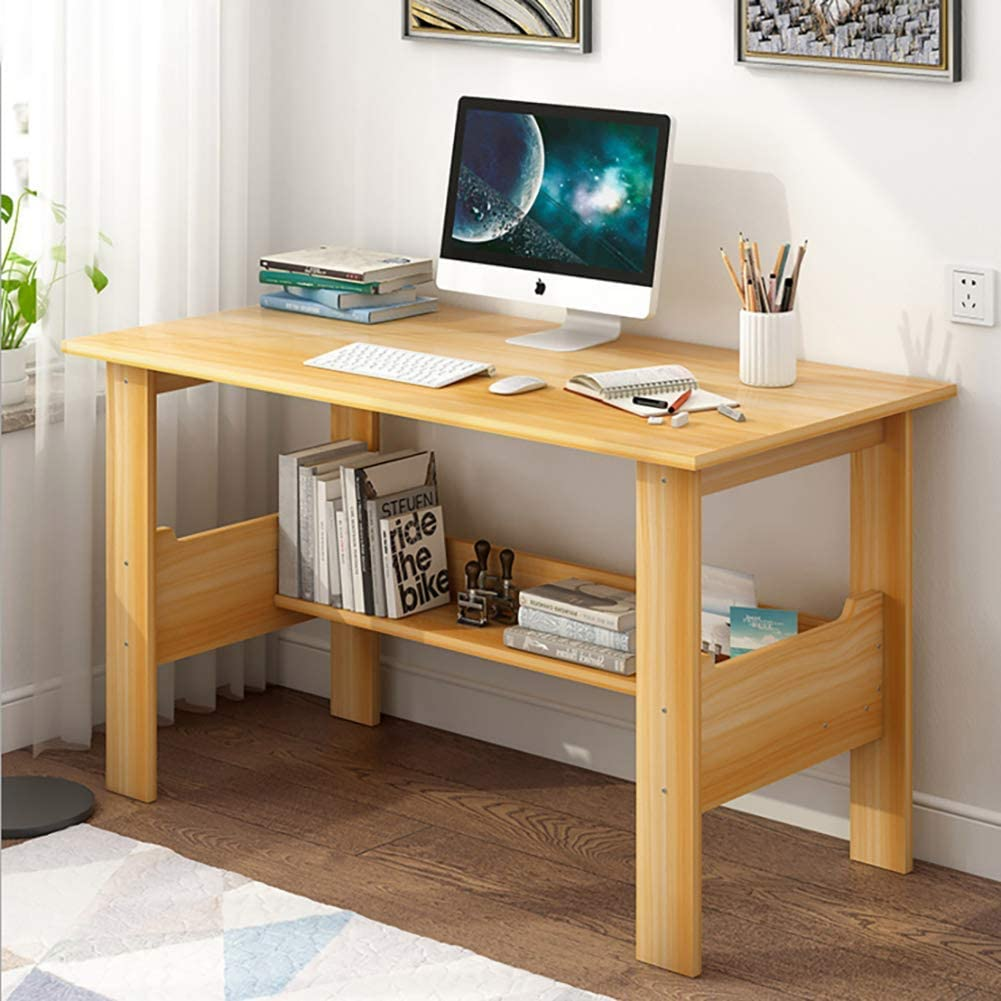 Amazon.com: Writing Computer Desk,Wood Pc Laptop Table Computer