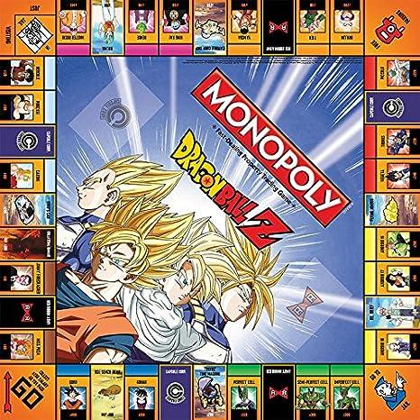 MONOPOLY Dragon Ball Z Board Game | Recruit Legendary Warriors GOKU, VEGETA and GOHAN | Official Dragon Ball Z Anime Series Merchandise | Themed ...