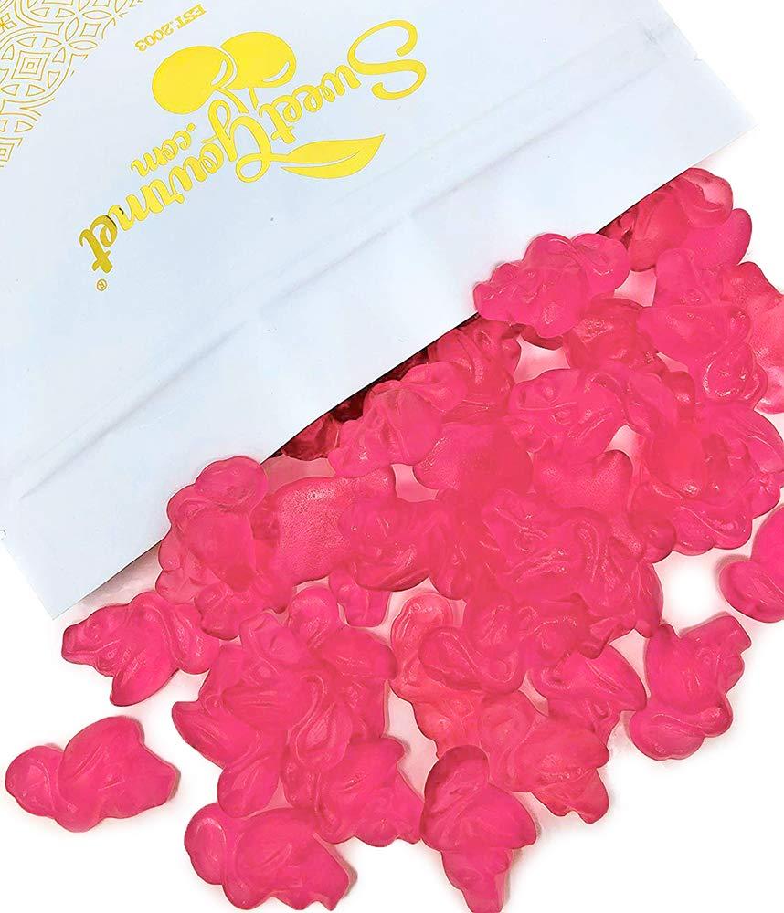 SweetGourmet Pink Flamingos Gummi | Vidal Bulk Gummy Candy | 3 Pounds
