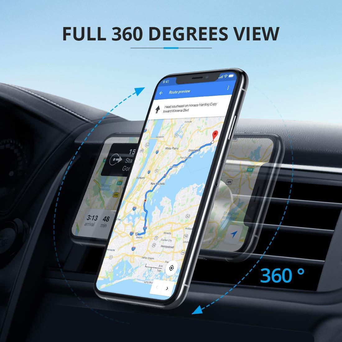 Amazon.com: Amoon Soporte magnético para teléfono para coche ...
