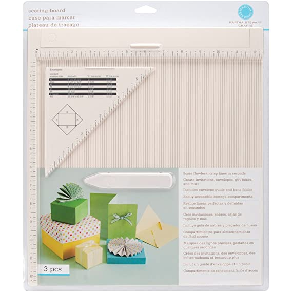 Amazon martha stewart crafts scoring board and envelope tool amazon martha stewart crafts scoring board and envelope tool arts crafts sewing stopboris Image collections
