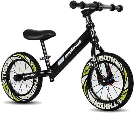Hejok Bicicleta De Equilibrio Rojo, Bicicleta De Equilibrio Deportivo Coche De Equilibrio para NiñOs Sin Pedales Bicicleta De Dos Ruedas 1-3-6 AñOs Scooter Baby Yo Car, Black: Amazon.es: Deportes y aire libre