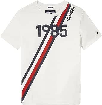 Tommy Hilfiger Ame Global Stripe Series tee S/S Camiseta para Niños