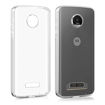 Motorola Moto Z Play Funda case , MENGGOOD TPU Cover Suave ...