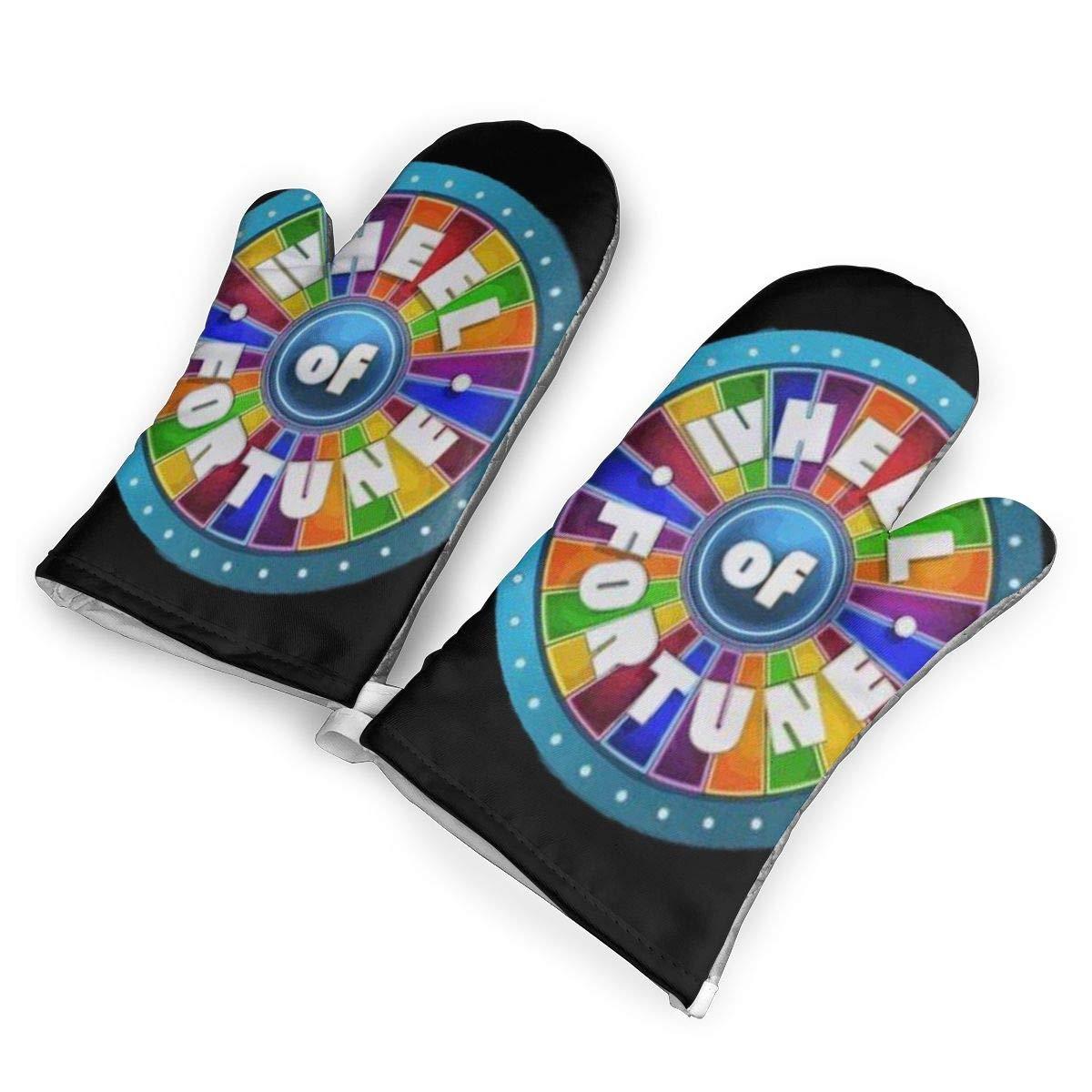 CASM Wheel of Fortune Sony Pictures Studios Unique Design Eyeballs.jpg Microwave Oven Gloves,Cotton Oven Gloves Heat Resistant Microwave Oven Kitchen Gloves