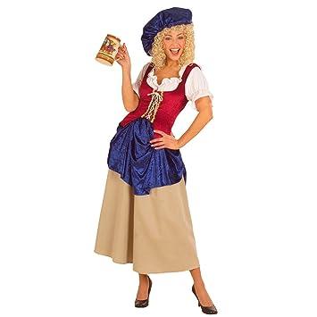 Medieval Magd Disfraz Bäuerin Medieval Disfraz Para Mujer Disfraz ...