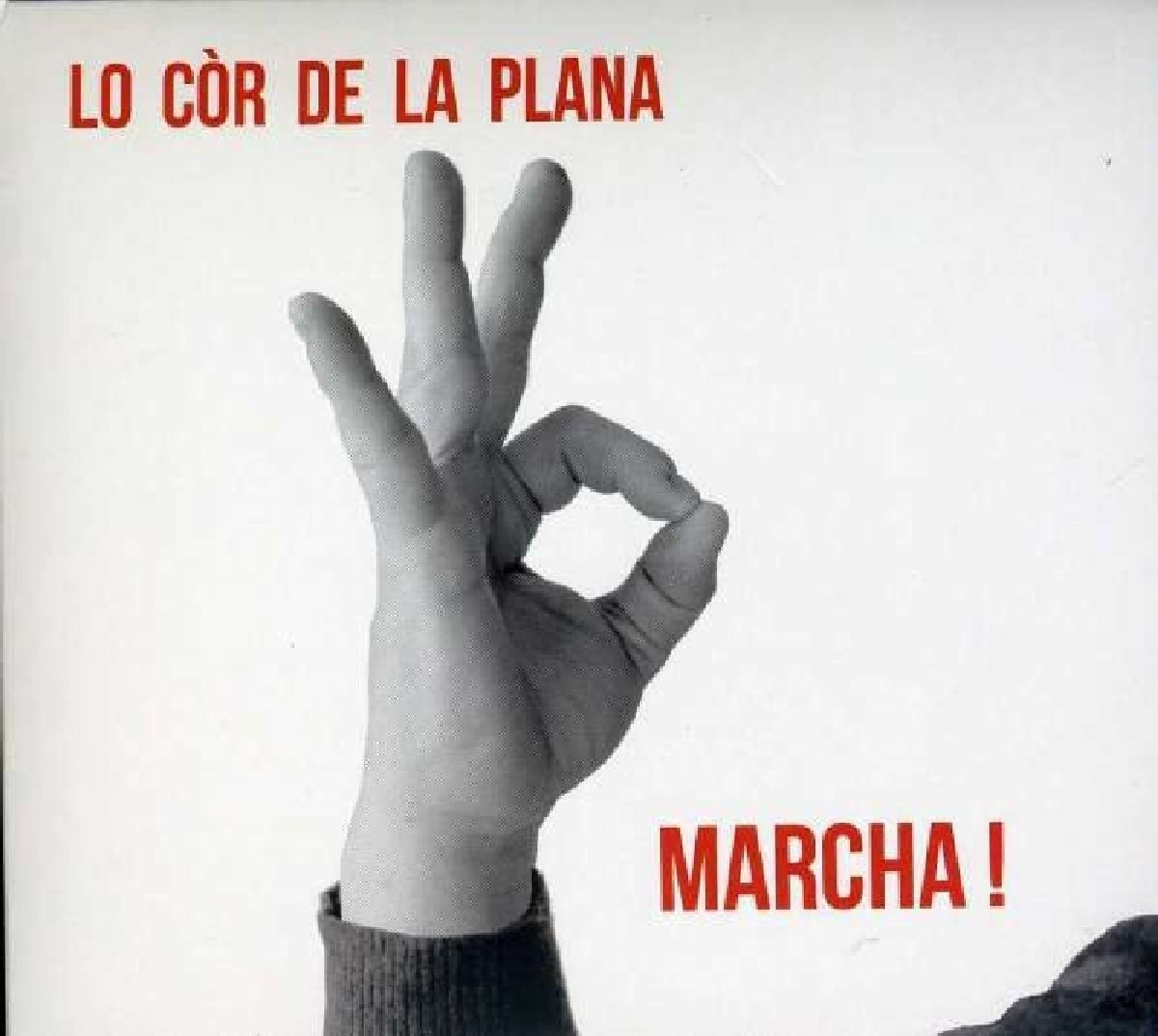 CD : Lo Cor de La Plana - Marcha! (Digipack Packaging)