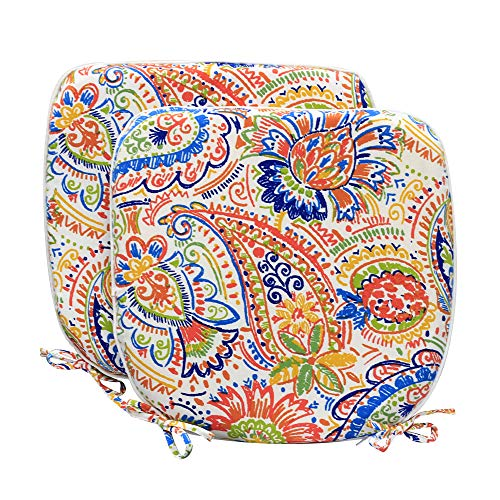 Pcinfuns Indoor/Outdoor All Weather Chair Pads Seat Cushions Garden Patio Home Chair Cushions, 17