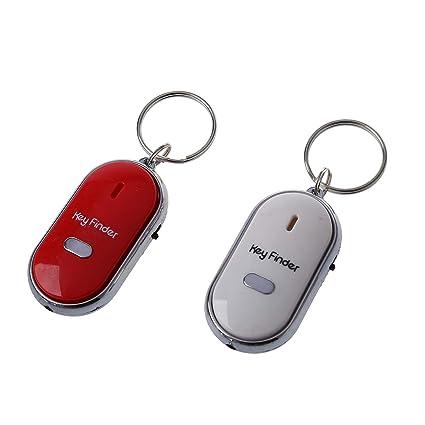 Buscador de llave - TOOGOO(R)2pzs Silbido Buscador de llave ...