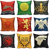 C&C Products Thrones Games Pillow Case Throw Car Sofa Seat Cushion Cover
