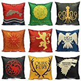 C&C Products Thrones Games Pillow Case