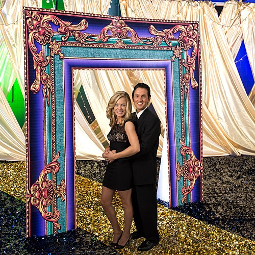 Mardi Gras Frame Arch Party Prop by Shindigz by Shindigz