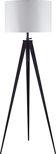 SH Lighting Contemporary Tripod Adjustable Floor Lamp
