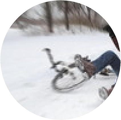 my-puzzle-design alfombrilla de ratón accidente de bicicleta en ...
