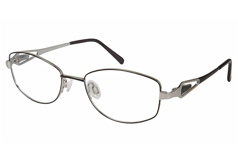 Aristar by Charmant Eyeglasses AR16369 AR//16369 538 Black Optical Frame 47mm