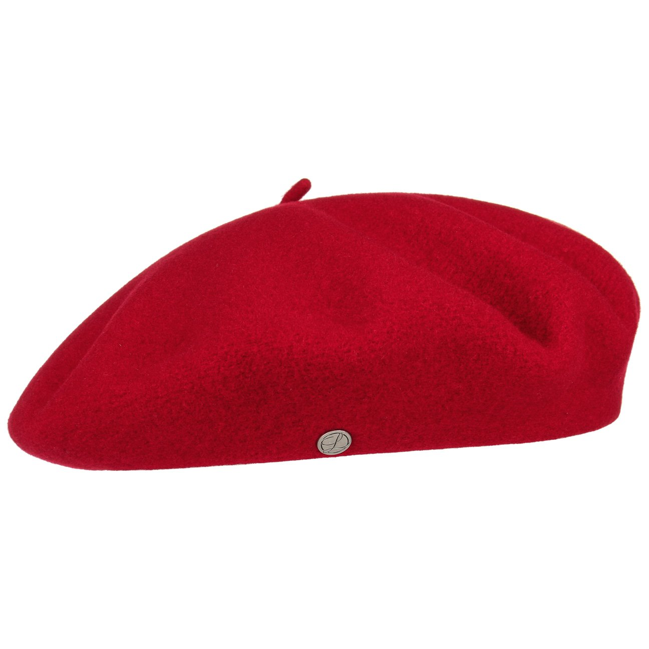 Authentique Classic Wool Beret - Red