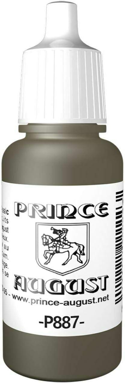 Acrylique Prince August Classic Marron Violet 887