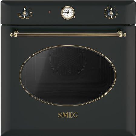 Smeg horno eléctrico de integrado sf855ao Capacidad 79 L termoventilato Potencia 3000 W) Antracita: Amazon.es: Hogar