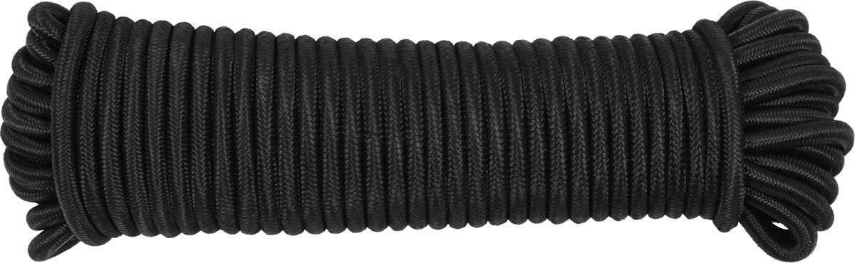 Vorel Polipropylen gummileieine Gummi Seil 8MM 15 meter FLEXIBLES Seil F/ÜR PLANEN