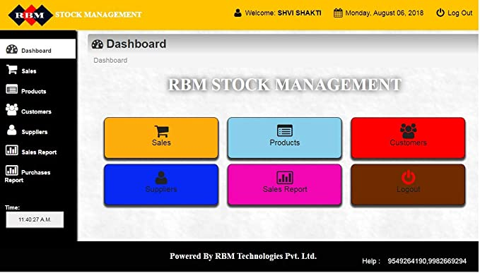 0b9ee440022 stock management  Amazon.in  Software
